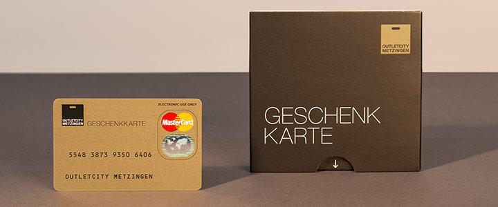 Die Geschenkkarte Der Outletcity Metzingen