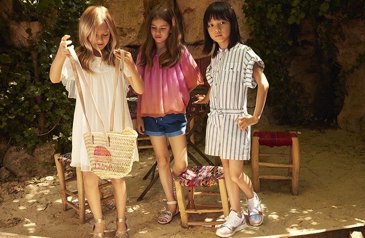 Chloé Kidswear Outlet Mode