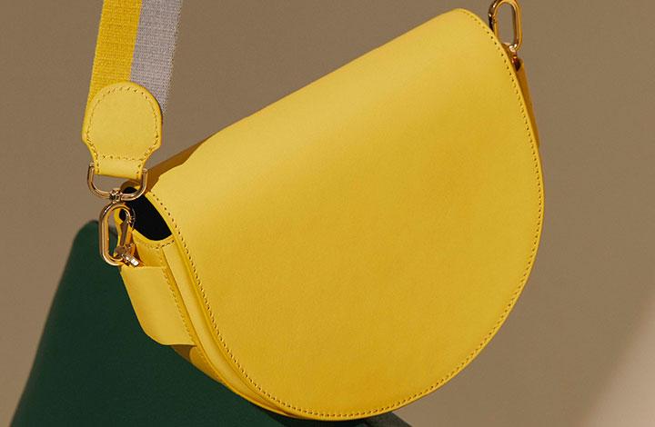 Liebeskind Outlet - gelbe Handtasche