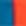 orangerot-blau