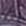 lila gemustert