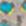 grau-türkis