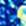 blau gemustert