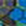 blau-gemustert