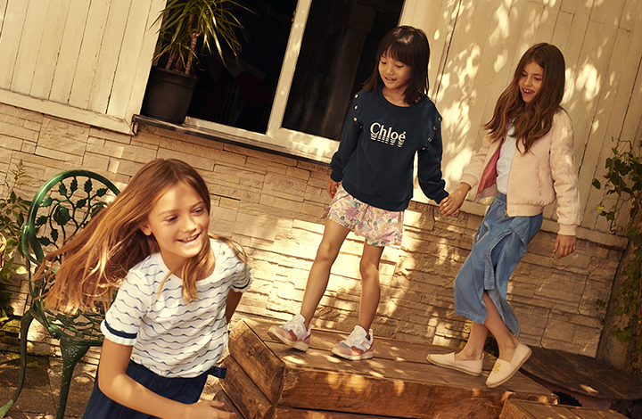 Chloé Kidswear Outlet Kinder