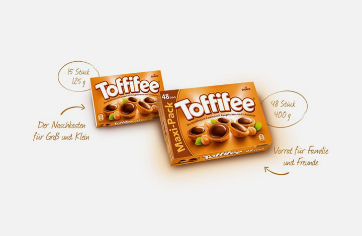 Toffifee Outlet - Verpackung