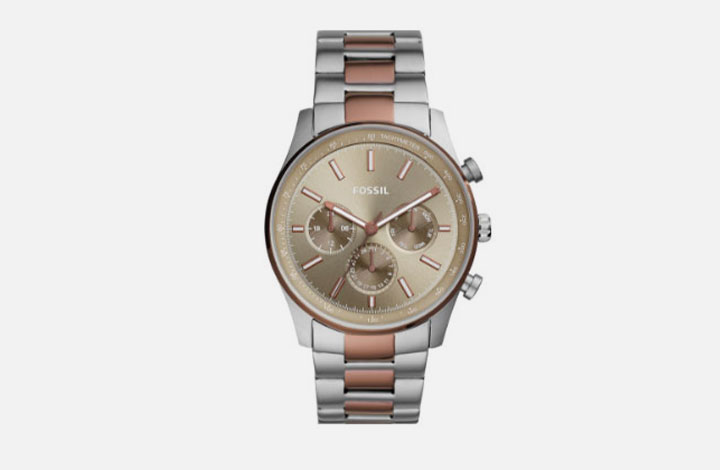 Fossil Outlet Uhr silber