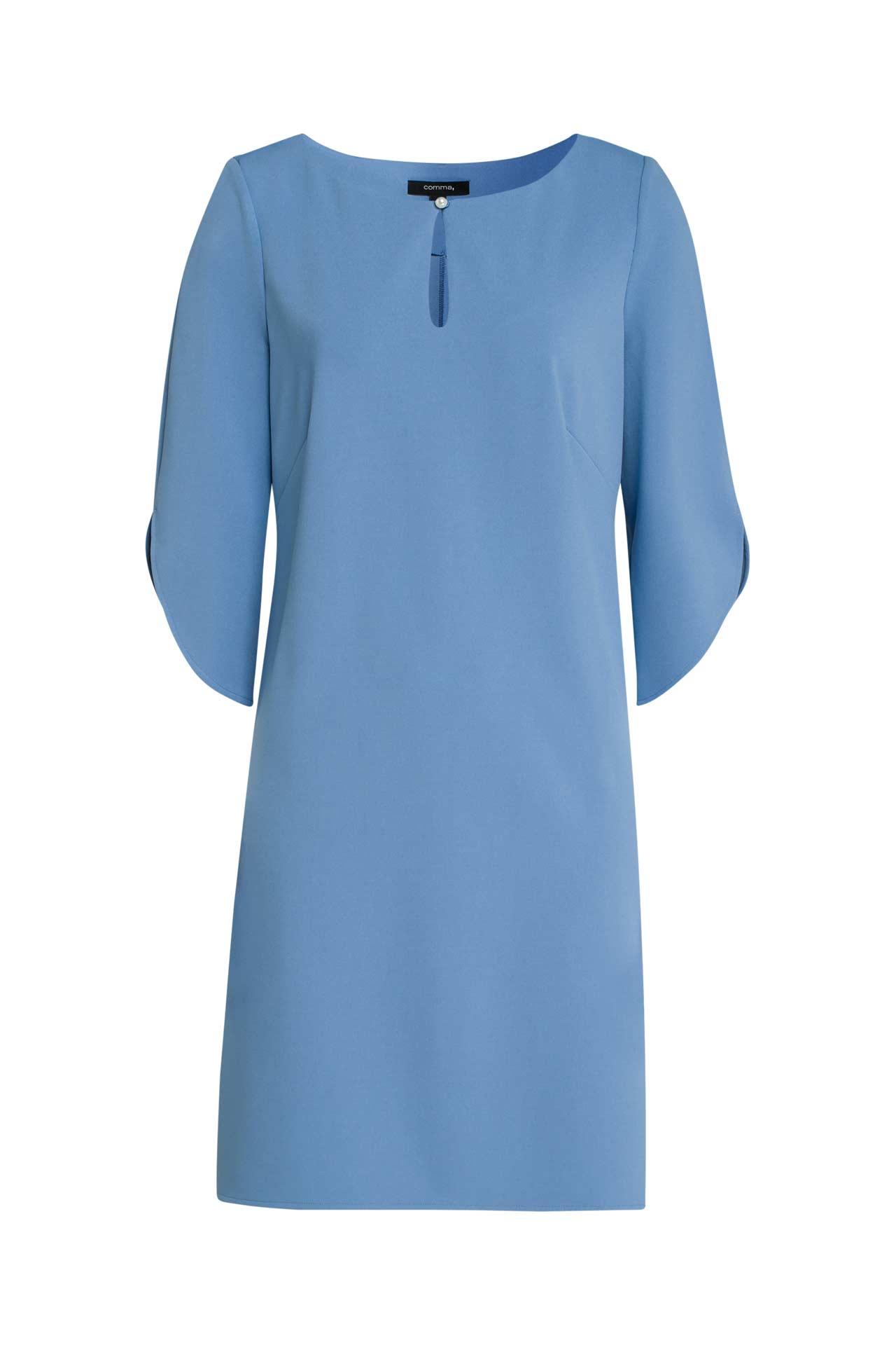 Kleid hellblau - COMMA » günstig online kaufen ...