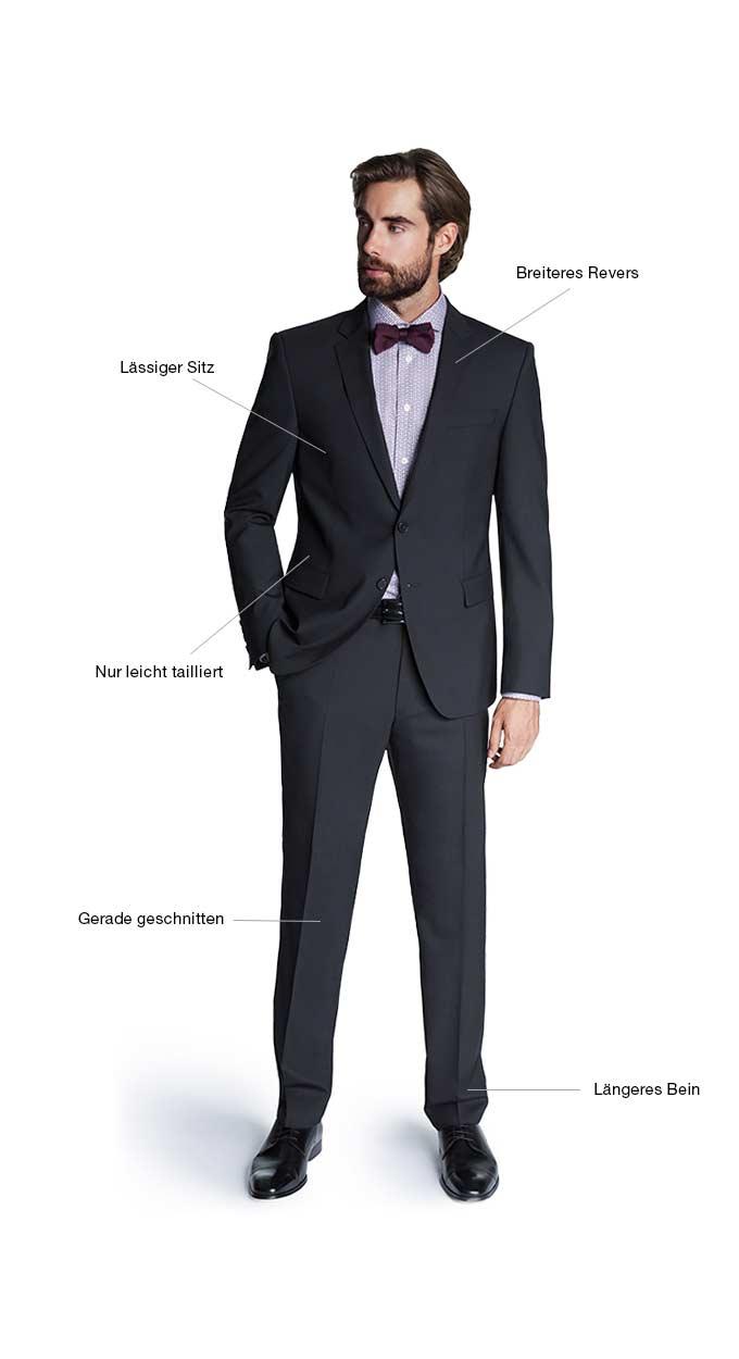 Regular Fit Anzug
